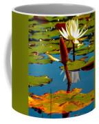 Budding Lilies Coffee Mug