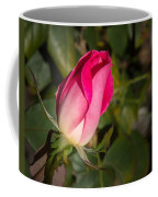 Budding Pink Rose Coffee Mug