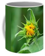 Budding Sunflower Coffee Mug