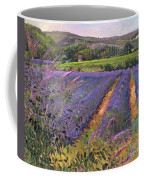 Buddleia And Lavender Field Montclus Coffee Mug