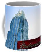 Budweiser And Building  Coffee Mug
