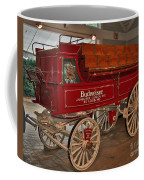 Budweiser Anheuser Busch Wagon Coffee Mug