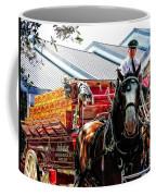 Budweiser Beer Wagon Coffee Mug