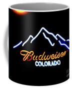 Budweiser In Colorado Coffee Mug
