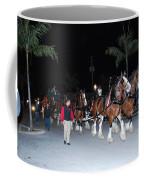 Budwiser Clidsdale Horses Coffee Mug