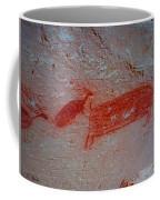 Buffalo And Elk Cave Painting Coffee Mug