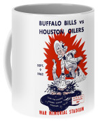 Buffalo Bills 1962 Program Coffee Mug