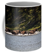 Buffalo Crossing - Yellowstone National Park - Wyoming Coffee Mug