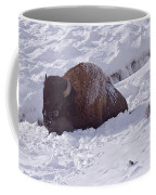 Buffalo In Snow   #6872 Coffee Mug