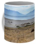 Buffalo Of Antelope Island V Coffee Mug