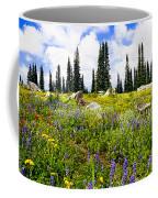 Buffalo Pass Colorado Wildflowers Coffee Mug