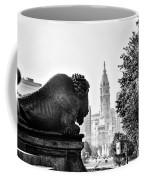 Buffalo Statue On The Parkway Coffee Mug