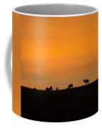 Bugling Autumn Elk Coffee Mug