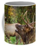 Bugling Bull Elk Coffee Mug