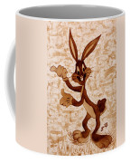 Bugs Banny Original Coffee Painting Coffee Mug