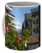 Building And Palm Trees Coffee Mug