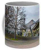 Building At Olympic Village Munich Germany Coffee Mug