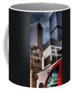 Tribute To Leger 3 - Building Blocks - Architecture Of New York City Coffee Mug