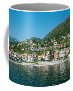 Building In A Town At The Waterfront Coffee Mug