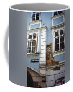 Building In Blue Coffee Mug
