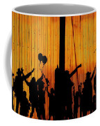 Building Silhouettes In Color Coffee Mug