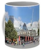 Building Work In The City Of London Coffee Mug