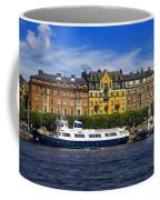 Buildings And Boats Coffee Mug