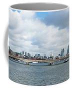 Buildings At The Waterfront, Thames Coffee Mug