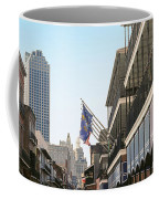 Buildings In A City, Four Points By Coffee Mug