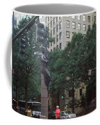 Buildings In A City, Trade And Tryon Coffee Mug