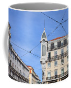 Buildings In The Chiado Neighbourhood Of Lisbon Coffee Mug
