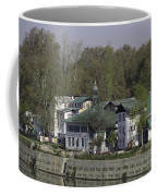 Buildings On The Shore Of Section Of Dal Lake In Srinagar Coffee Mug