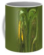 Bulbinella Latifolia Abstract Coffee Mug