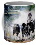 Bull Herd Coffee Mug