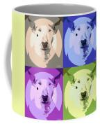 Bull Terrier Pop Art Coffee Mug