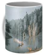 Bullard Rock On The New River Coffee Mug