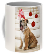 Holiday Bulldog Puppy  Coffee Mug