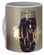 Bullet Piercing Glass Of Soda Coffee Mug
