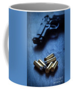 Bullets And Handgun Coffee Mug