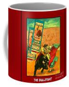 Bullfight Poster Coffee Mug