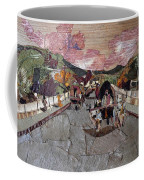 Bullock Cart On Bridge Coffee Mug
