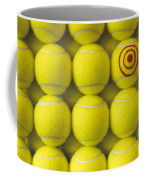 Bullseye Tennis Balls Coffee Mug