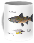Bulltrout And Grey Ghost Fly Coffee Mug