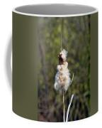 Bulrush Seed Head Disintegrating Coffee Mug