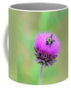 Bumblebee On Thistle 2013 Coffee Mug