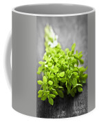 Bunch Of Fresh Oregano Coffee Mug