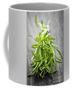 Bunch Of Fresh Rosemary Coffee Mug