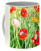 Bunch Of Poppies II Coffee Mug