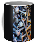 Bunch Of Screws Coffee Mug by Carlos Caetano