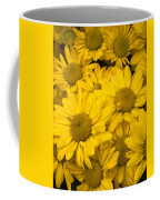 Bunch Of Yellow Daisies Coffee Mug